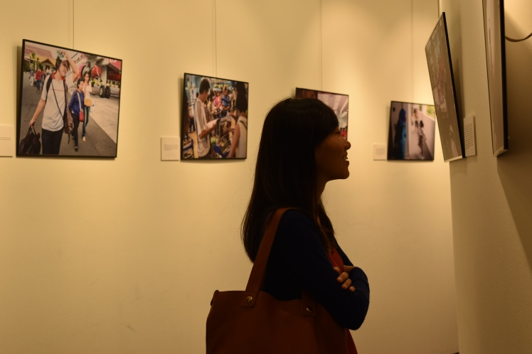 Visitors find the exhibition compelling. / Photo credit: Kerrie Wee