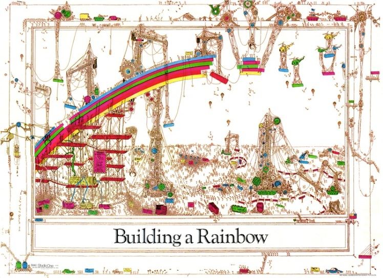 """We are building a rainbow, not simply hoping for one."" (Butigan 2011)"