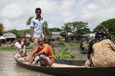 Munshiganj is a major migrant-sending district for Singapore-bound workers. It's 45 km south of the capital city of Dhaka, and its land area is 954.96 sq km -- bigger than Singapore.